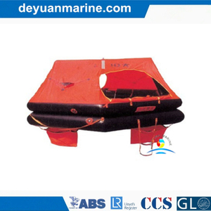 10 Person Fishing Boat Inflatable Liferaft