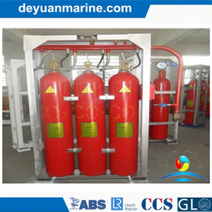 Marine CO2 Fire Extinguishing System