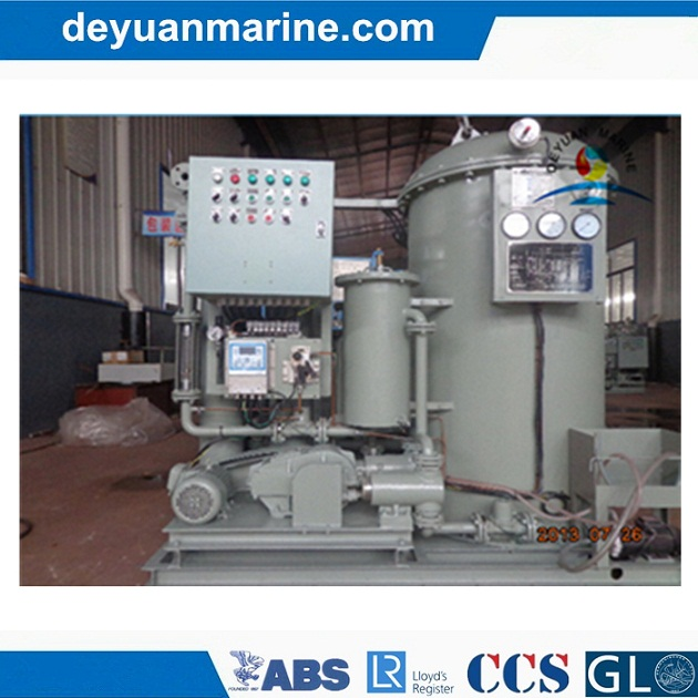 0.25m3/H 15ppm Bilge Water Separator 40 Persons Marine Sewage Treatment Plant with Good Price